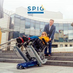 Schodolez pre elektrický vozík